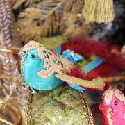 <b>【即納可!】</b>♪Katherine's Collection♪ボヘミアンバードクリップ・ブルー