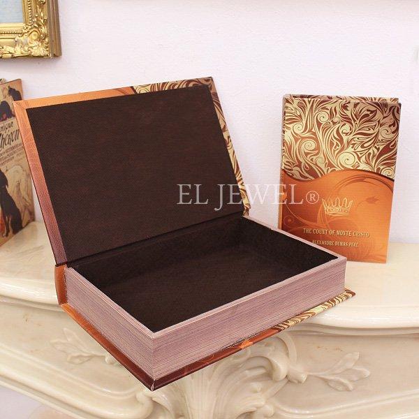 アンティーク調ブック型BOX2個セット「MONTE CRISTO」