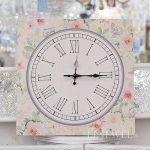 <B>【即納可!】【フランス-Orval】</B>壁掛け時計「ROSE GARDEN」