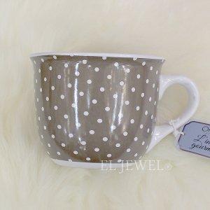 <b>【即納可!】【フランス-Orval】</b>2種の紅茶&ビッグマグカップ(グレー)ギフトセット