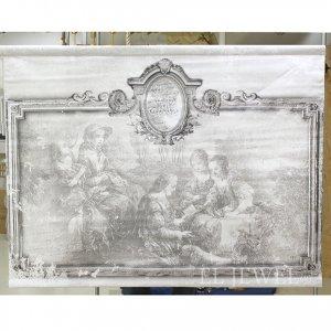 <b>【即納可!】【フランス-Mathilde M.】</b>ベッドヘッドボード「Bucolique」(W160×122cm)