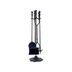 暖炉用アクセサリー・ファイヤーセット(W18×H78cm)