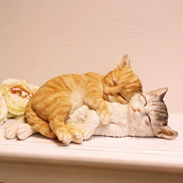 【入荷未定】子猫のオブジェ お昼寝キャット