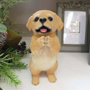 <b>【入荷未定】</b>子犬のオブジェ♪ちょーだいラブラドール(H21cm)<img class='new_mark_img2' src='//img.shop-pro.jp/img/new/icons47.gif' style='border:none;display:inline;margin:0px;padding:0px;width:auto;' />