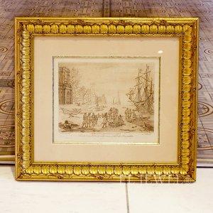<b>【即納可!】【限定品!1点もの】</b>フランス・ヴィンテージ ドローイング「the duke Devonshire collection No 43.」