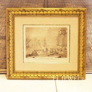 <b>【即納可!】【限定品!1点もの】</b>フランス・ヴィンテージ ドローイング「the duke Devonshire collection No 96.」