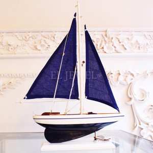 <b>【即納可!】</b>【アメリカ-ZODAX】ミロスブルーセイルボート ブルー