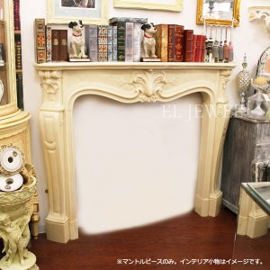 <b>【完売】</b>英国製 ルイ15世様式マントルピース(W140cm)<img class='new_mark_img2' src='//img.shop-pro.jp/img/new/icons47.gif' style='border:none;display:inline;margin:0px;padding:0px;width:auto;' />