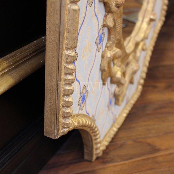 【フランス-ELUSIO】ヴェネチア・フィニアル ミラー(W64×H96cm)