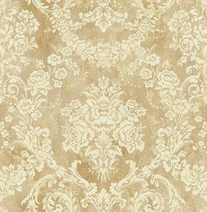 ≪国内在庫品≫輸入壁紙<b>【Wallquest】</b>Antique Chic 壁紙 52cm巾×10m巻