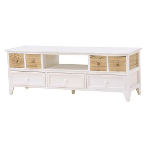 <B>【セール!】【SHABBY WOOD FURNITURE】</B>ナチュラルスタイル♪テレビボード・アンティークホワイト(W115×D34×H40.5cm)<img class='new_mark_img2' src='https://img.shop-pro.jp/img/new/icons24.gif' style='border:none;display:inline;margin:0px;padding:0px;width:auto;' />