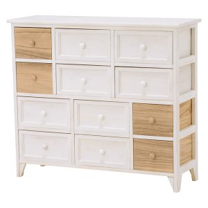 <B>【セール!】【SHABBY WOOD FURNITURE】</B>ナチュラルスタイル♪チェスト・アンティークホワイト(W85×D30×H75cm)<img class='new_mark_img2' src='//img.shop-pro.jp/img/new/icons24.gif' style='border:none;display:inline;margin:0px;padding:0px;width:auto;' />