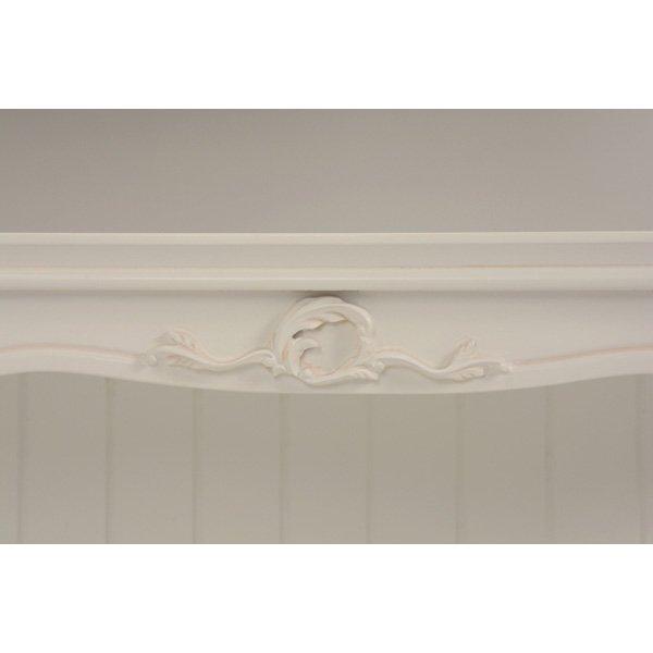 【セール!】【HAMPTON】 クラシカルスタイル♪キャビネット・アンティークホワイト(W75×D35×H75cm)