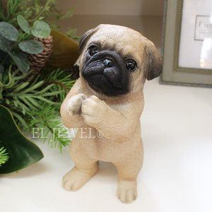 <b>【入荷未定】</b>子犬のオブジェ♪ちょーだいパグ(H20.5cm)<img class='new_mark_img2' src='//img.shop-pro.jp/img/new/icons47.gif' style='border:none;display:inline;margin:0px;padding:0px;width:auto;' />