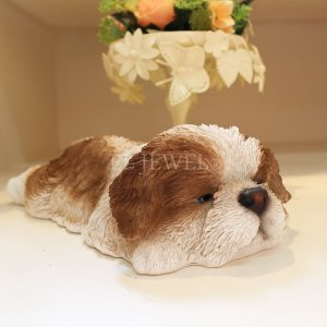 <b>【入荷未定】</b>子犬のオブジェ♪うたたねシーズー(W22cm)<img class='new_mark_img2' src='https://img.shop-pro.jp/img/new/icons47.gif' style='border:none;display:inline;margin:0px;padding:0px;width:auto;' />