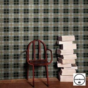 ≪国内在庫品≫輸入壁紙<b>【GRIS GRIS】</b>coordonne スペイン(53cm巾×10m巻)
