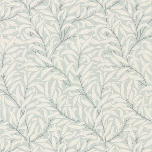 輸入壁紙<b>【PURE WALLPAPERS】</b>PURE MORRIS イギリス「Pure Willow Bough」(52cm巾×10m巻)