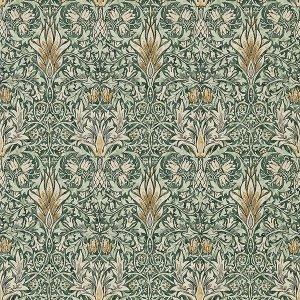 輸入壁紙<b>【MORRIS ARCHIVE IV】</b>MORRIS&Co. イギリス「Snakeshead」(68.6cm巾×10m巻)
