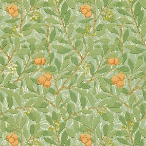 輸入壁紙<b>【MORRIS VOLUME I WALLPAPERS】</b>MORRIS&Co. イギリス「Arbutus」(52cm巾×10m巻)