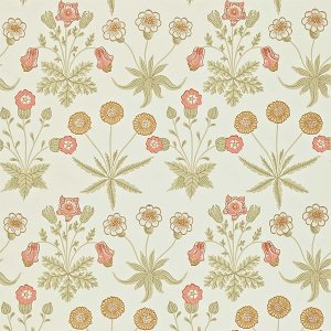 輸入壁紙<b>【MORRIS ARCHIVE WALLPAPERS II】</b>MORRIS&Co. イギリス「Daisy」(52cm巾×10m巻)