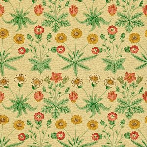 輸入壁紙<b>【MORRIS VOLUME I WALLPAPERS】</b>MORRIS&Co. イギリス「Daisy」(52cm巾×10m巻)