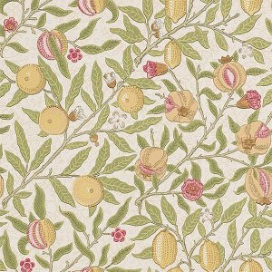 輸入壁紙<b>【MORRIS ARCHIVE WALLPAPERS】</b>MORRIS&Co. イギリス「Fruit」(52cm巾×10m巻)