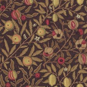 輸入壁紙<b>【MORRIS ARCHIVE WALLPAPERS】</b>MORRIS&Co. イギリス「Fruit」(52cm巾×10m巻)