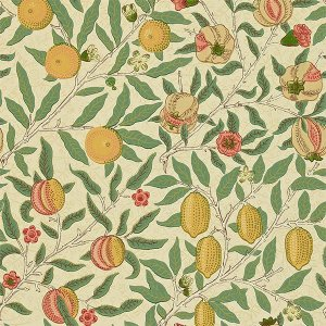 輸入壁紙<b>【MORRIS VOLUME I WALLPAPERS】</b>MORRIS&Co. イギリス「Fruit」(52cm巾×10m巻)