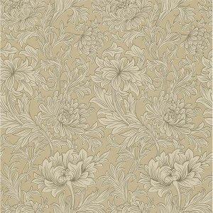 輸入壁紙<b>【MORRIS VOLUME V】</b>MORRIS&Co. イギリス「Chrysanthemum Toile」(52cm巾×10m巻)