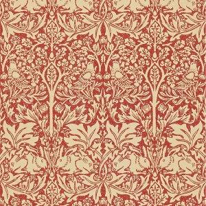 輸入壁紙<b>【MORRIS VOLUME IV】</b>MORRIS&Co. イギリス「Brer Rabbit」(52cm巾×10m巻)