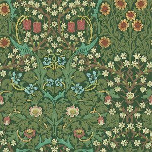 輸入壁紙<b>【MORRIS VOLUME III】</b>MORRIS&Co. イギリス「Blackthorn」(52cm巾×10m巻)