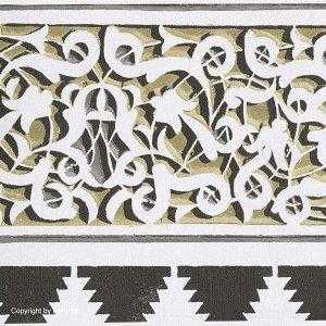 輸入壁紙<b>【AIDA】</b>KHR&#212;MA ベルギー「Dounia」(25.5cm巾×5m巻)