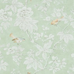 輸入壁紙<b>【CHISWICK GROVE WALLPAPERS】</b>Sanderson 英国「Chiswick Grove」(68.6cm巾×10m巻)