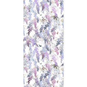 輸入壁紙<b>【WATERPERRY WALLPAPERS】</b>Sanderson 英国「Wisteria Falls Panel A」(137cm巾×3m パネル)