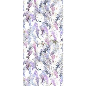 輸入壁紙<b>【WATERPERRY WALLPAPERS】</b>Sanderson 英国「Wisteria Falls Panel B」(137cm巾×3m パネル)