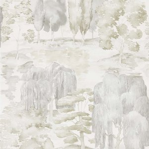 輸入壁紙<b>【WATERPERRY WALLPAPERS】</b>Sanderson 英国「Waterperry」(52cm巾×10m巻)