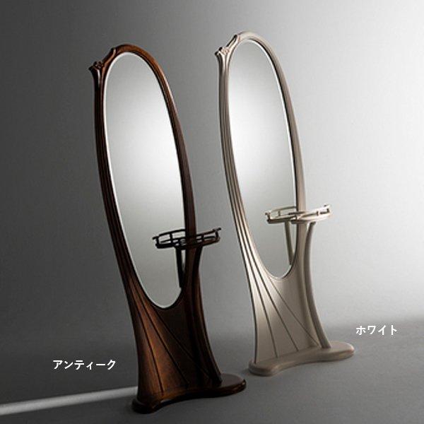 国産・高級ロココ家具【カンティーニュ】姿見(D-03)(W590×D330×H1720mm)