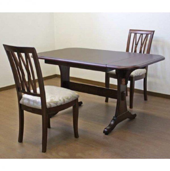 【Venezia】 ダイニングテーブル3点セット(W106(130)×D80×H70cm)