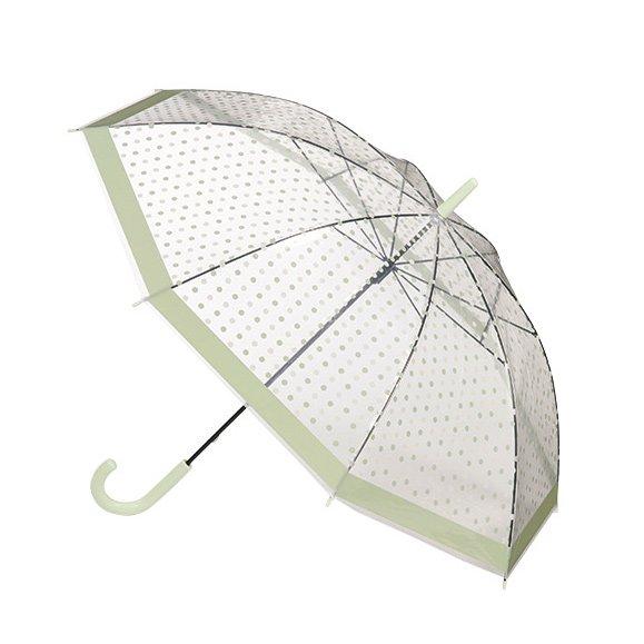 【即納可!】 ビニール傘・水玉(Φ96×H80cm)