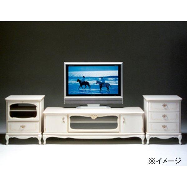 国産・高級ロココ家具【カンティーニュ】サイドチェストBタイプ ホワイトorアンティークorブラックorシャンパンゴールド(W54×D45×H70cm)