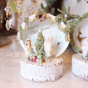 <b>【即納可!】</b>クリスマス☆LEDライト付ドーム・ツリー&キッズ・B(H12cm)<img class='new_mark_img2' src='https://img.shop-pro.jp/img/new/icons1.gif' style='border:none;display:inline;margin:0px;padding:0px;width:auto;' />