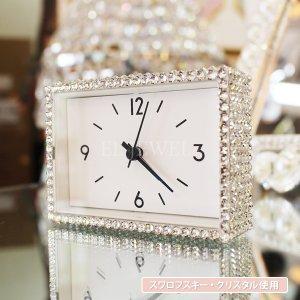 キラキラスワロフスキーデコレーション♪ビジュー 駅の時計 クリスタル