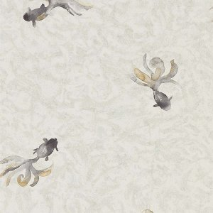 輸入壁紙<b>【WATERPERRY WALLPAPERS】</b>Sanderson 英国「Fantail」(52cm巾×10m巻)