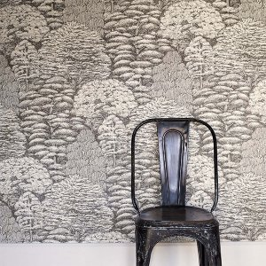 輸入壁紙<b>【WOODLAND WALK WALLPAPERS】</b>Sanderson 英国「Woodland Toile」(52cm巾×10m巻)