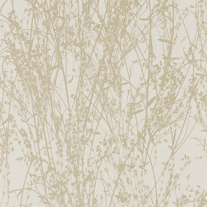 輸入壁紙<b>【WOODLAND WALK WALLPAPERS】</b>Sanderson 英国「Meadow Canvas」(52cm巾×10m巻)