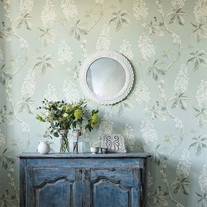 輸入壁紙<b>【WOODLAND WALK WALLPAPERS】</b>Sanderson 英国「Chestnut Tree」(68.6cm巾×10m巻)