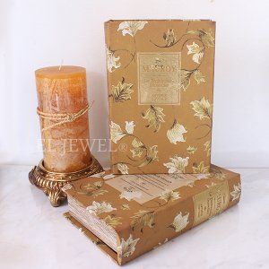 <b>【即納可!】</b>ブック型BOX「CHARLES」(14.5×21×5cm)