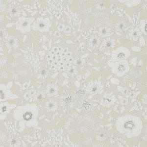 輸入壁紙<b>【POTTING ROOM WALLPAPERS】</b>Sanderson 英国「Maelee」(68.6cm巾×10m巻)