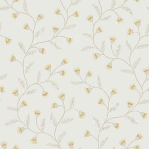 輸入壁紙<b>【POTTING ROOM WALLPAPERS】</b>Sanderson 英国「Everly」(52cm巾×10m巻)