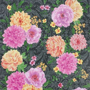 輸入壁紙<b>【BELVOIR WALLPAPERS】</b>Matthew Williamson 英国「Duchess Garden」(52cm巾×10m巻)